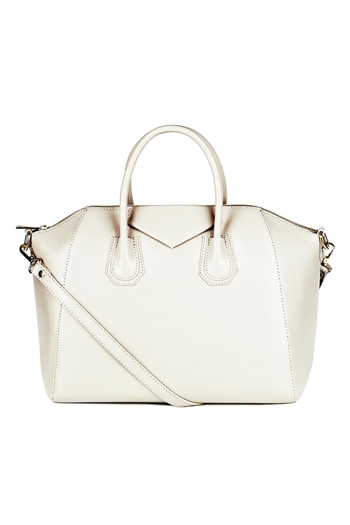 Luxury Leather Bag (Light beige)