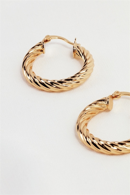 Twisted Luxe Earrings