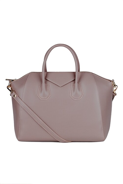 Luxury Leather Bag (Mocca)