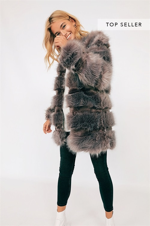 Exclusive Faux Fur Coat