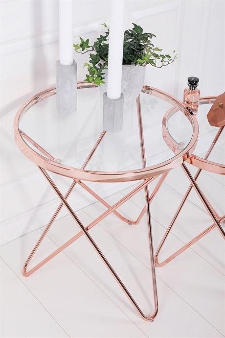"Rosy Table Large - ""Ø55 cm"