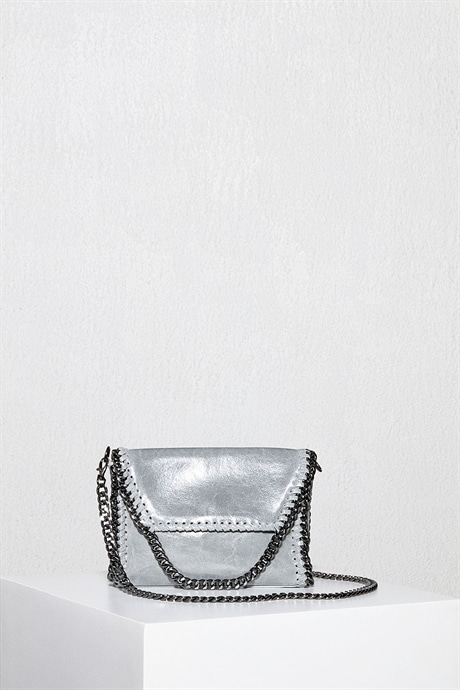 Party Killer Leather Crossbody Bag