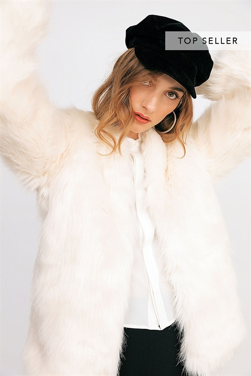 Soft Babe Faux Fur Jacket