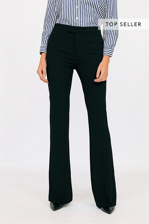 Flared Casual Pants