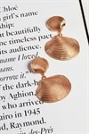 Sandy Shell Earrings